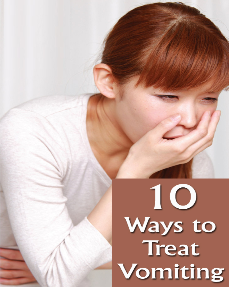 10 Ways to Treat Vomiting