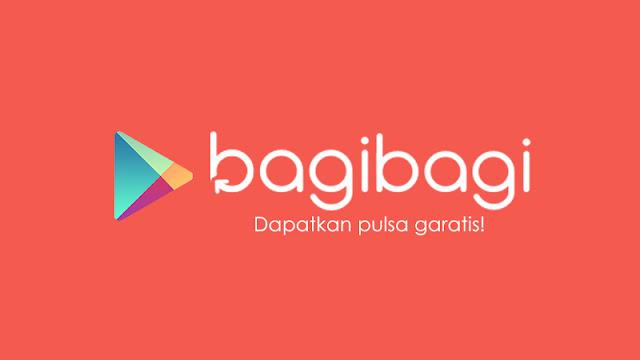 BagiBagi: Pulsa gratis tanpa perlu referral dan install aplikasi