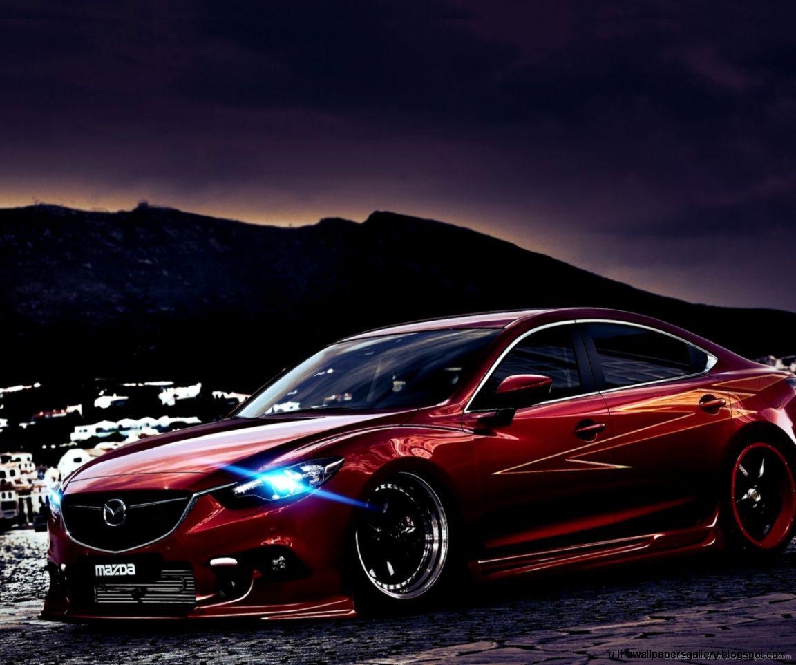 Mazda 6 Red Wallpaper