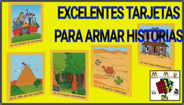 TARJETAS PARA ARMAR HISTORIAS