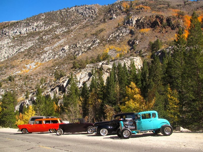 Life on the Open Road: Big Rocks and Old Cars