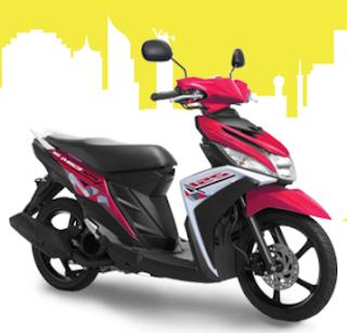 Yamaha Mio M3 Pink terbaru 2016