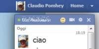 Muovere la chat di Facebook, ingrandirla e spostarla