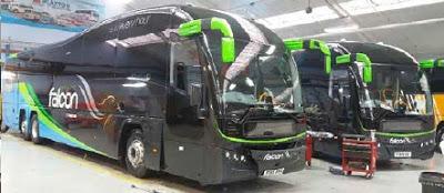 Falcon coaches bristol to plymouth