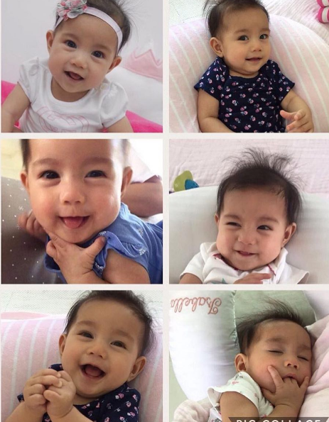 Closer Look On Mariel and Robin's Lovely Baby Isabella