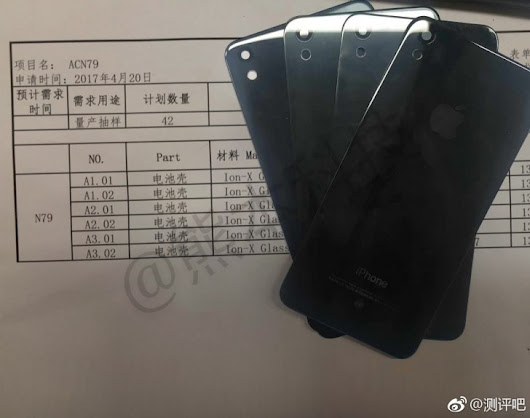 iPhone SE (2017) has a glass back, leak shows