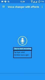 Cara Memundurkan Suara di Android