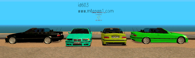 Bmw Ustu Acık Spor E36 Tuning Car