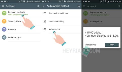 Cara Dapat Google Play Gift Card Gratis