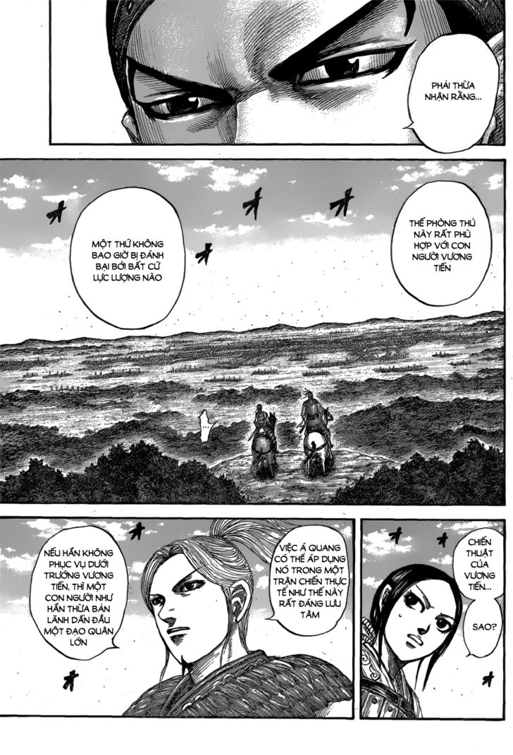 Kingdom - Vương Giả Thiên Hạ chap 556 - Trang 15