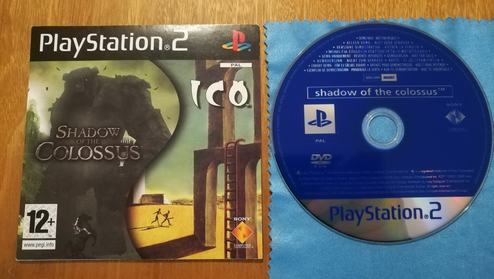 Shadow of Colossus / ICO Demo - Video Game Preservation