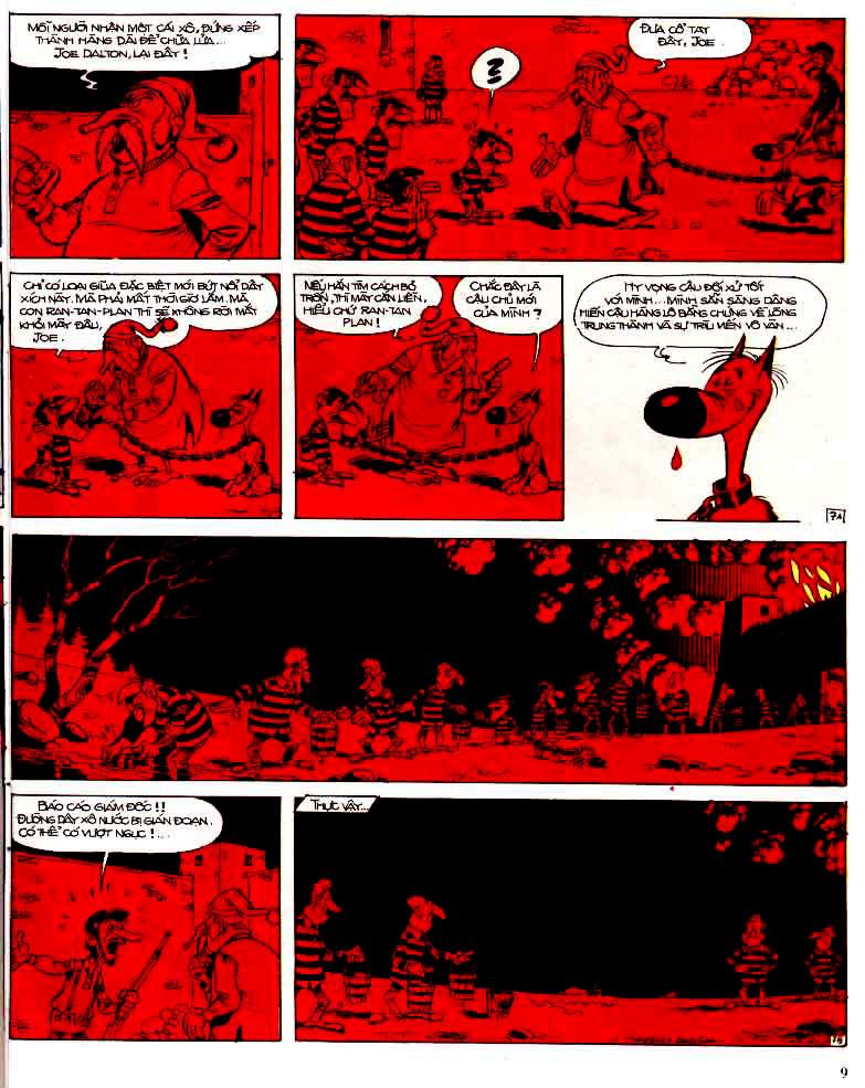 Lucky Luke tap 15 - ma dalton trang 10
