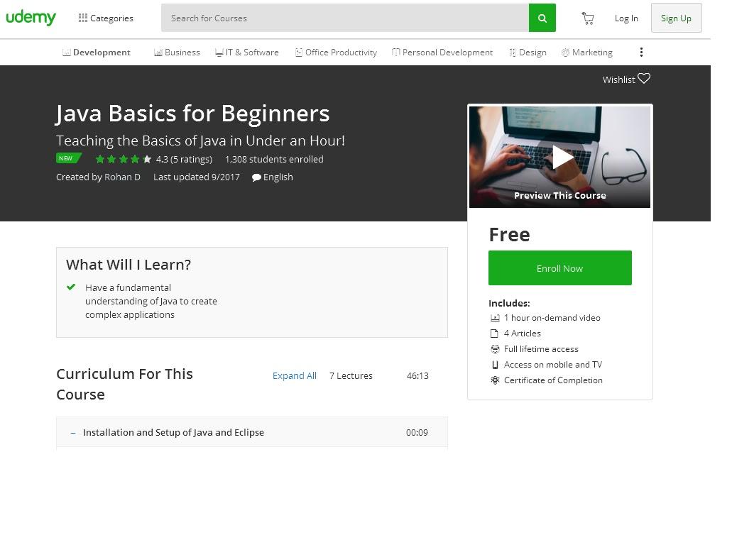java basics for beginners pdf