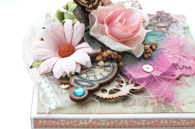@marinasyskova #scrap #scrapbooking #graphic45 #magicbox #alteredart