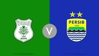 Susunan Pemain Persib Bandung vs PSMS Medan.