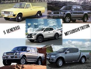 Generasi atau Sejarah Mitsubishi Triton
