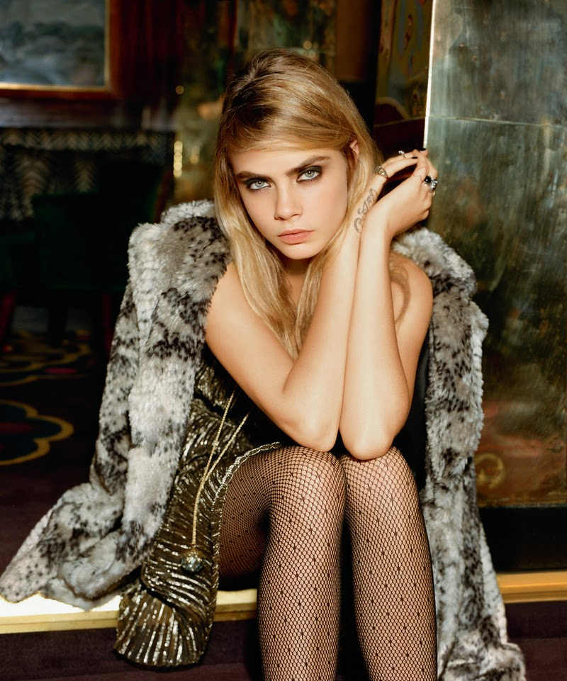 Cara Delevingne and Topshop