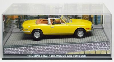 Autos a escala colección James Bond Triumph Stag