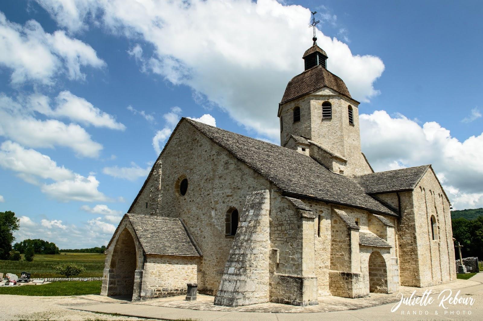 Eglise de Sainte-Hymetière, Jura