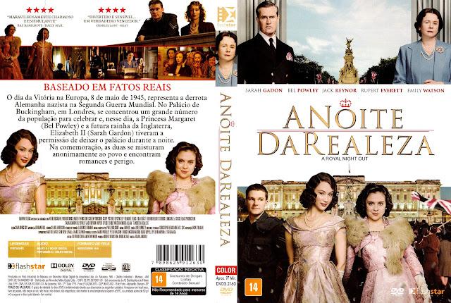 Capa DVD A Noite da Realeza (Oficial)