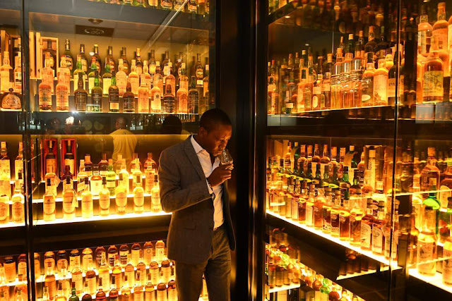 RMD & Don Jazzy?s Scottish quest for the perfect Johnnie Walker Whisky Blend