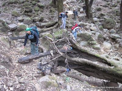 Cerro Viejo - Tomando la vía larga a la cima