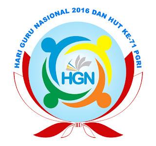 Logo Hari Guru Nasional 2016
