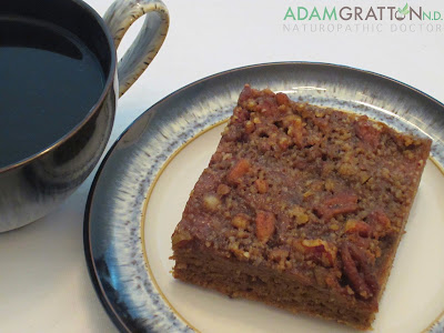 Gluten and Dairy Free Rhubarb Coffee Cake