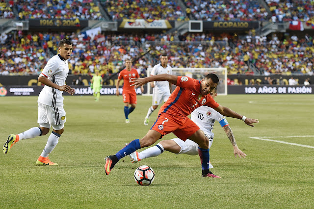 Colombia y Chile en Copa América Centenario, 22 de junio de 2016