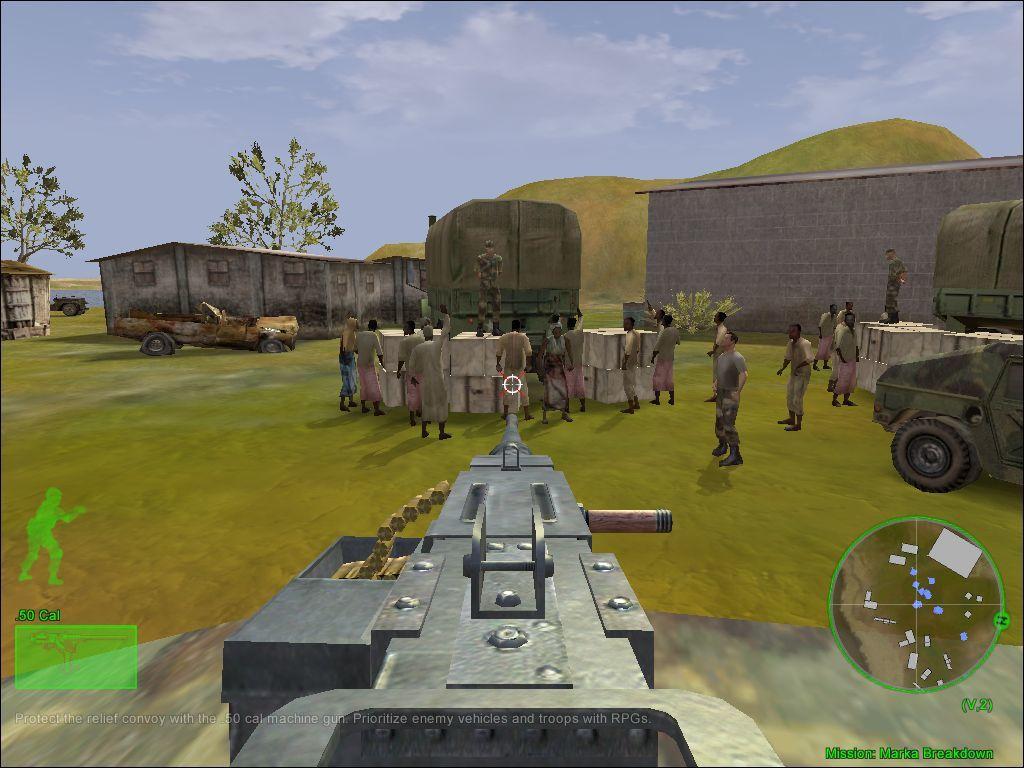 لعبة delta force land warrior 1 كاملة مجانا