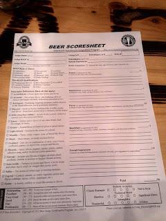 BJCP Scoresheet