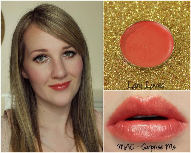 MAC Surprise Me lipstick swatch