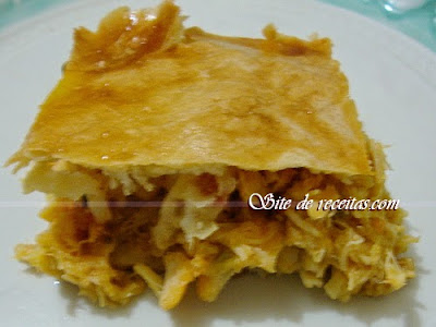 Torta caipira de frango