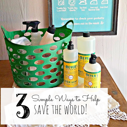 Earth Day - 3 Simple Ways to Help Save the World!