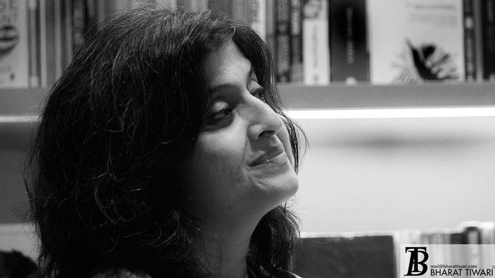 Neeta Gupta at the launch of Translating Bharat, Reading India at oxford book store