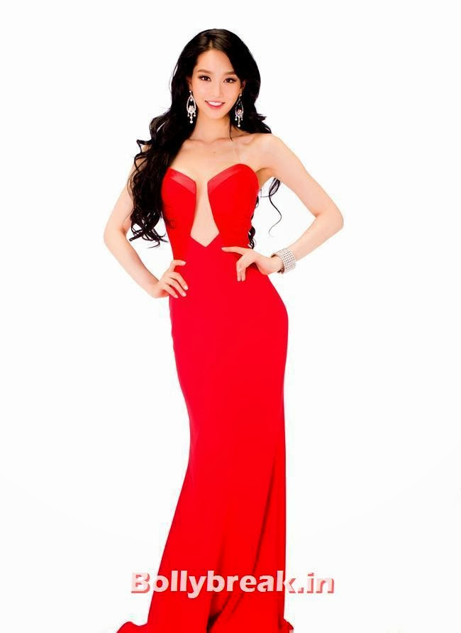 Miss Korea, Miss Universe 2013 Evening Gowns Pics