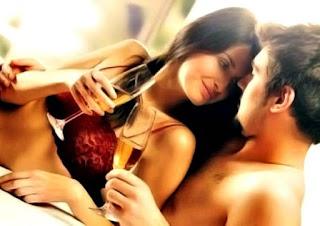 Relaciones íntimas pareja alcohol