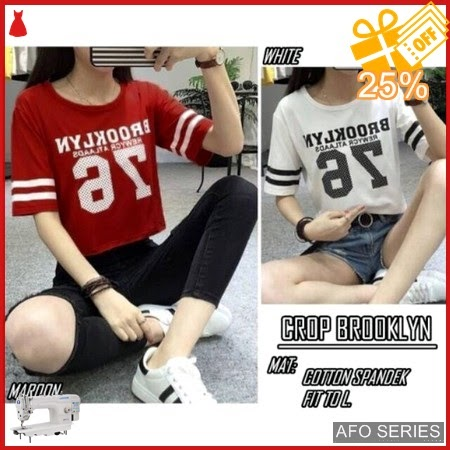 AFO311 Model Fashion Crop Brooklyn Modis Murah BMGShop