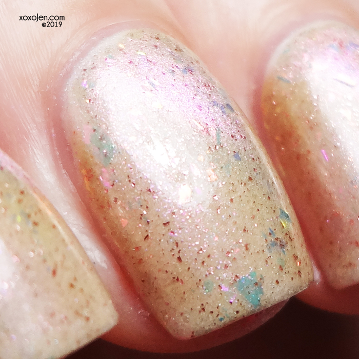 xoxoJen's swatch of DRK Nails Practically Perfect