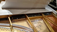 grand piano strings & dampers