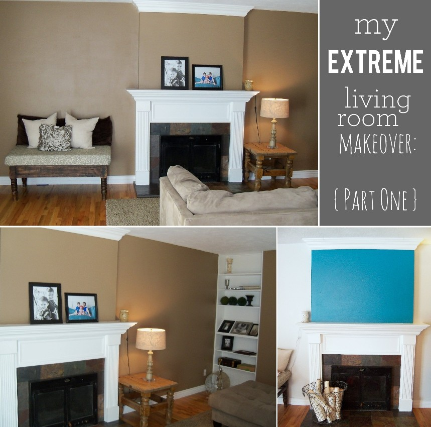Living Room Makeover {Part One}