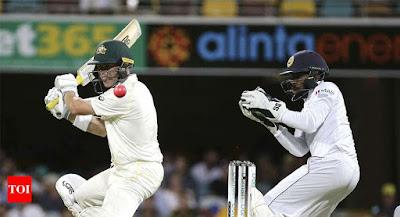 SL vs Aus 1st test 2019, live cricket score