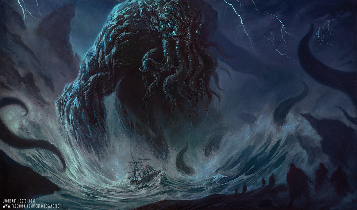 Cthulhu | Monstros Clássicos da Literatura