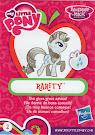 My Little Pony Wave 13 Rarity Blind Bag Card