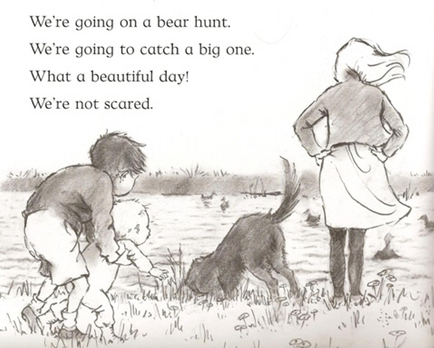 The Bear Hunt The Bear Hunt Begins