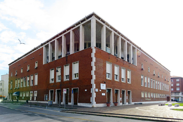 Palazzo del Portuale, Dockworker's Building, Livorno