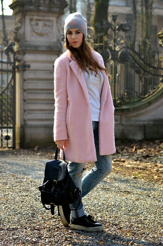 Winter Must Have: The Pink Coat