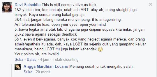 Celebrate Pride Facebook Post on Status Mark