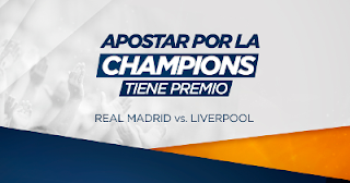 Kirolbet apuesta final champions y gana Iphone X LG Smart TV PS4 24 mayo