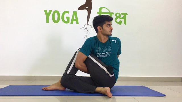 Mỗi ngày một tư thế Yoga || 33 Tư thế thần cá một nửa III